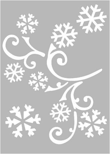 VBS Schablonen Weihnachten, 3er-Set