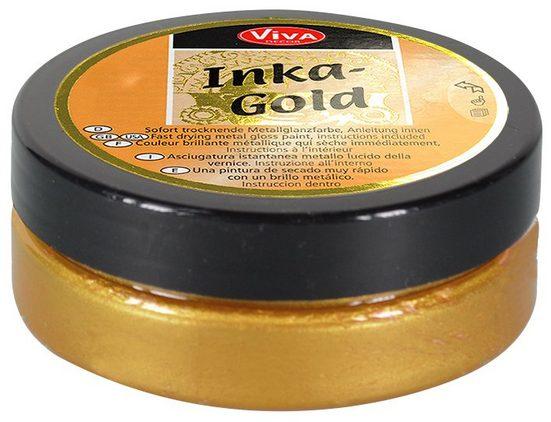 """Viva Decor Effektfarbe """"Inka Gold"""" 62,5 g"""