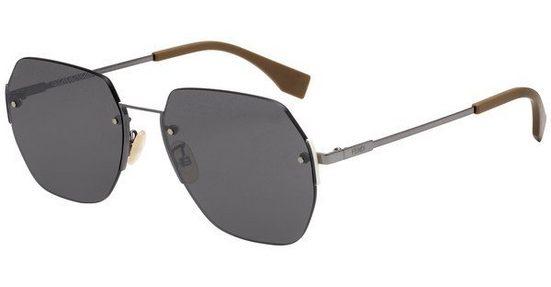 FENDI Herren Sonnenbrille »FF M0067/F/S«