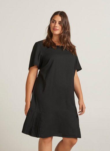 Zizzi Plisseekleid Damen Große Größen Kleid Elegant ...