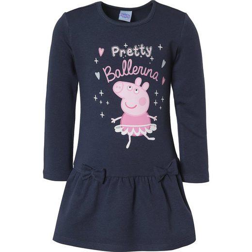 Peppa Pig Kinder Sweatkleid