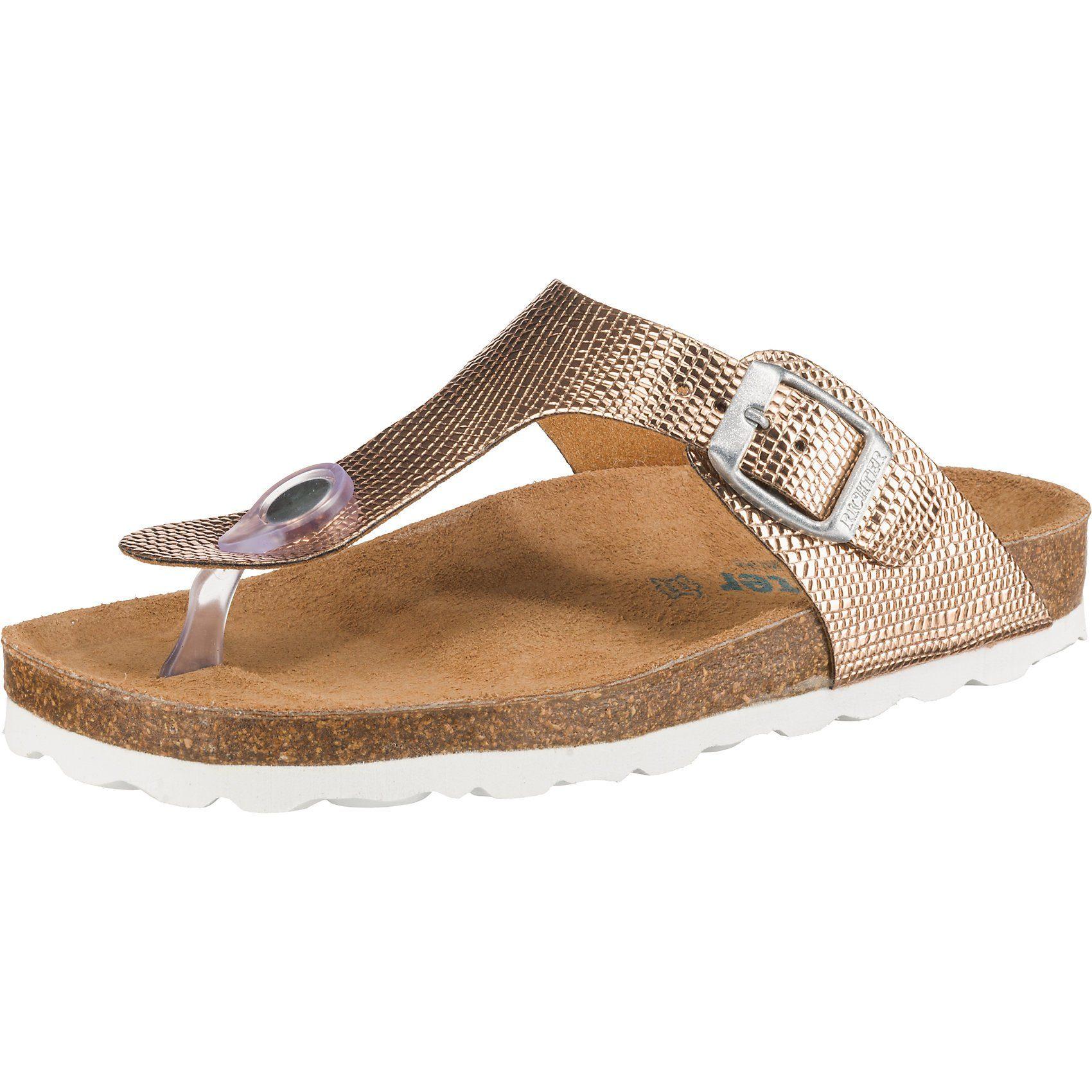 Richter Zehentrenner BIOS für Mädchen, Obermaterial (Schuhe): Textil online kaufen | OTTO