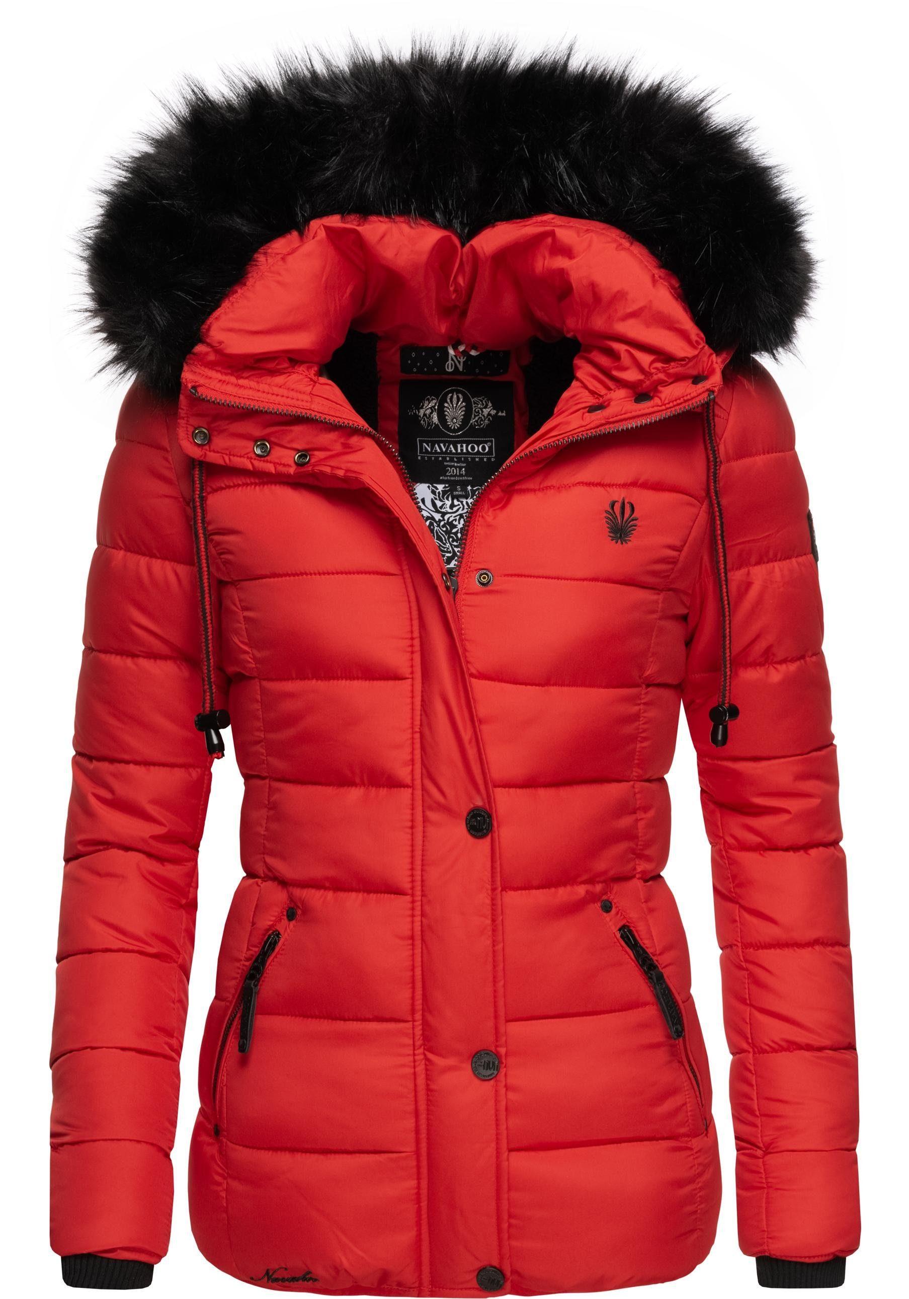 Marikoo Damen Winterjacke Stepp Jacke Sole 9 Farben XS XXL