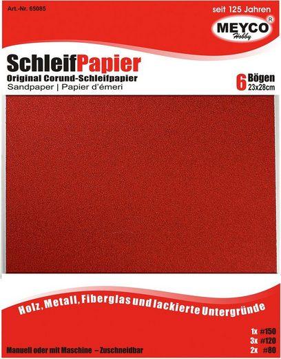 Schleifpapier, 6er-Set