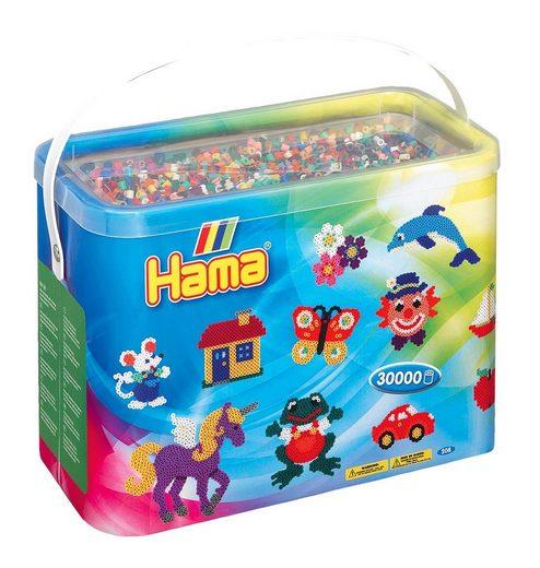 "Hama Perlen Bügelperlen-Box ""30.000 Perlen"" in 22 Farben"