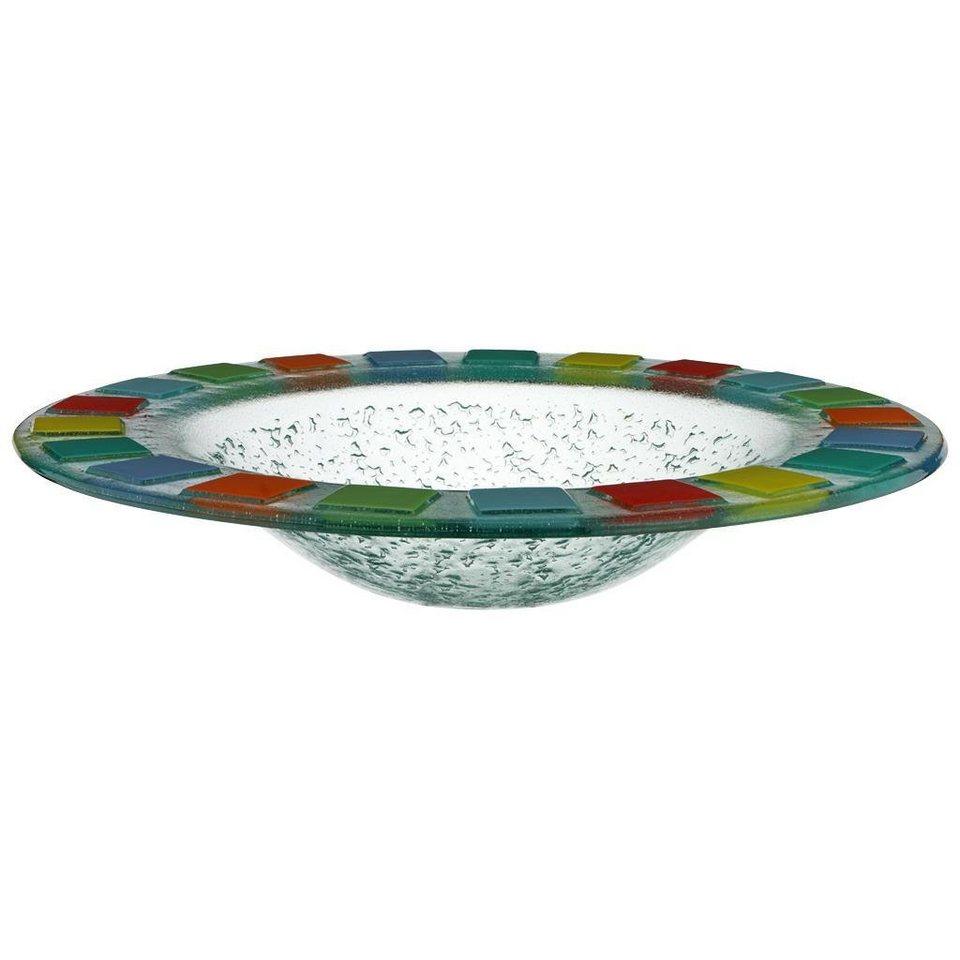 VILLEROY & BOCH Schale rund 38cm »Twist Alea Vitrum« in dekoriert