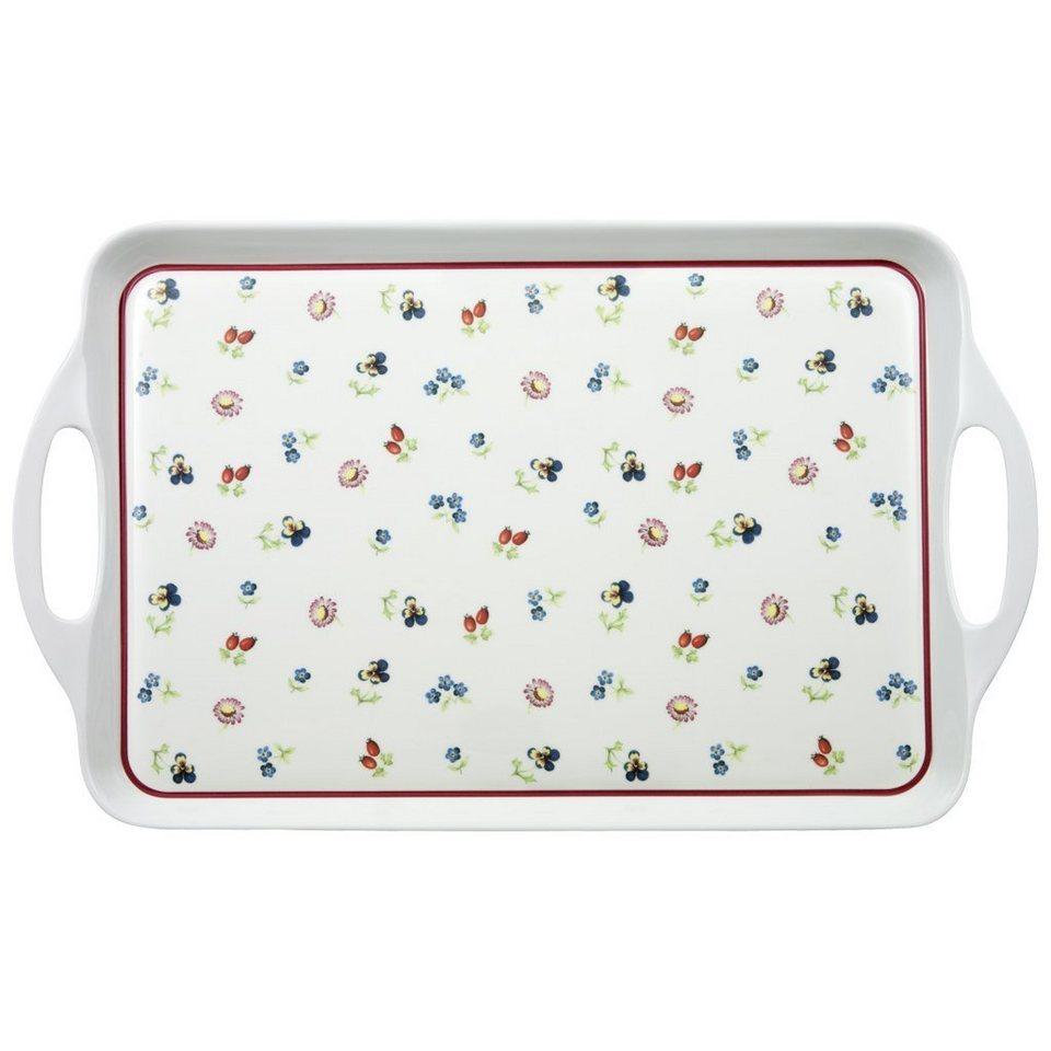VILLEROY & BOCH Tablett »Petite Fleur Kitchen« in dekoriert