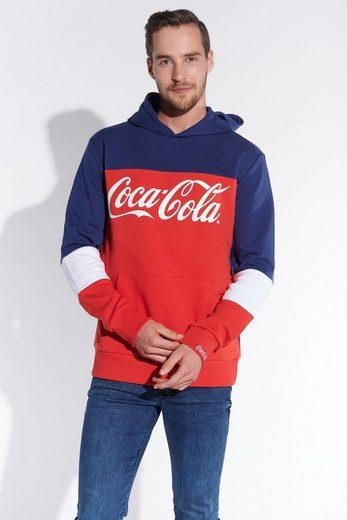 COURSE Kapuzenshirt mit Coca Cola Logo
