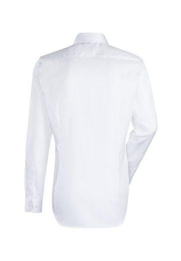 Schlussverkauf Jacques Britt Businesshemd »Custom Fit« Custom Fit Langarm Kentkragen Uni
