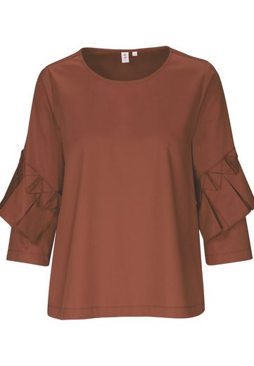 seidensticker Shirtbluse »Schwarze Rose« 3/4 Arm Rundhals Uni
