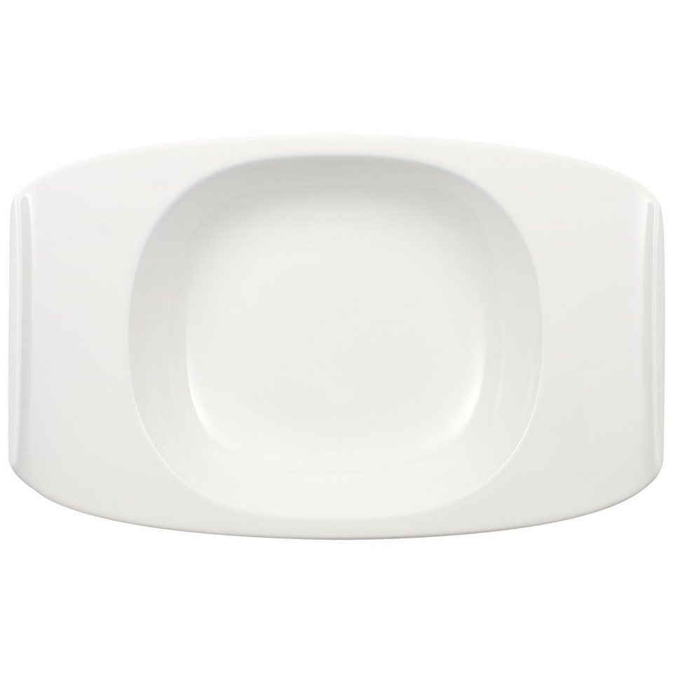 VILLEROY & BOCH Suppenteller 31x20cm »Urban Nature« in Weiss