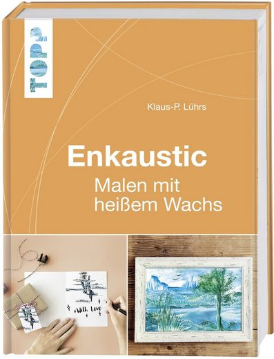 """Buch """"Enkaustic - Malen mit heißem Wachs"""" 160 Seiten"""