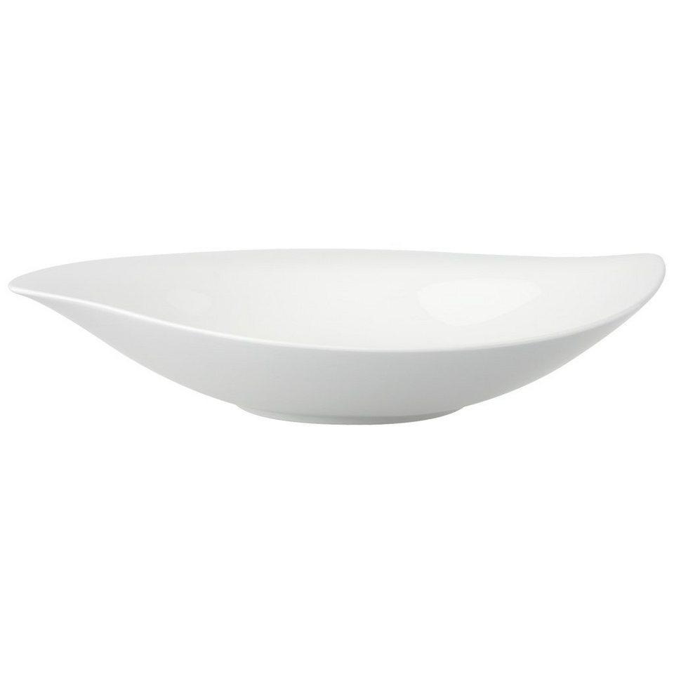 VILLEROY & BOCH Schale tief 29cm »New Cottage Special Serve Salad« in Weiss