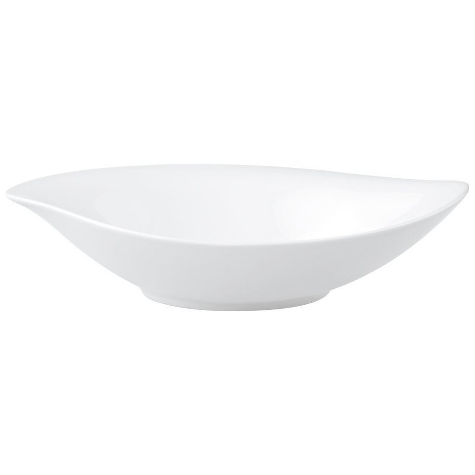 VILLEROY & BOCH Schale tief 21x18cm »New Cottage Special Serve Salad« in Weiss