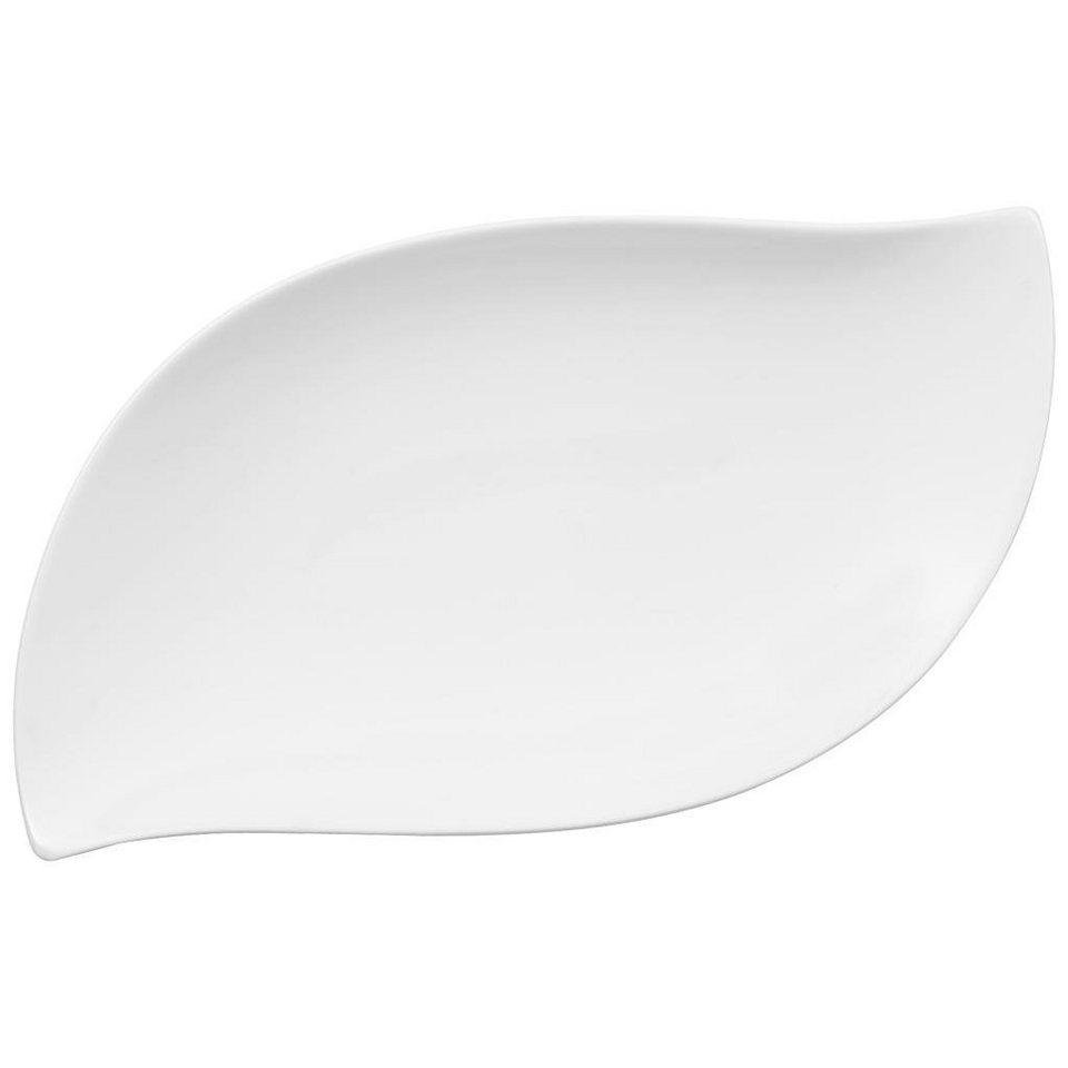 VILLEROY & BOCH Beilagenschale 30x16cm »NewWave Premium« in Weiss