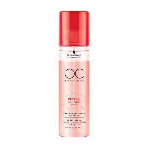 Schwarzkopf Professional Haarspülung »BC Bonacure Peptide Repair Rescue Spray Conditioner«, 1-tlg., Für feines bis normales geschädigtes Haar