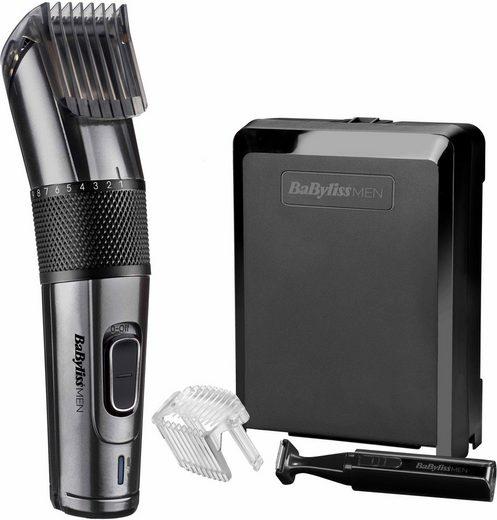 BaByliss Körper- und Bikinitrimmer Carbon Titanium E978E, inkl. Bürstenaufsatz und Bartaufsatz