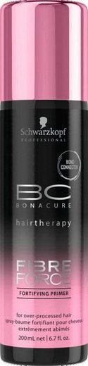 Schwarzkopf Professional Leave-in Pflege »BC Bonacure Fibre Force Fortifying Primer«, 1-tlg., Für übermäßig behandeltes Haar