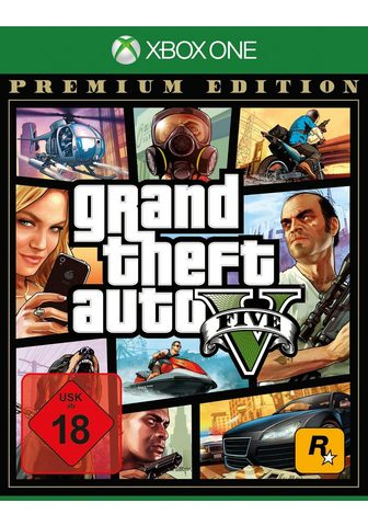 ROCKSTAR GAMES GTA V - Grand Theft mašina V Premium E...
