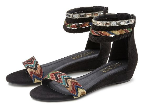 LASCANA Sandale im Ethno-Stil