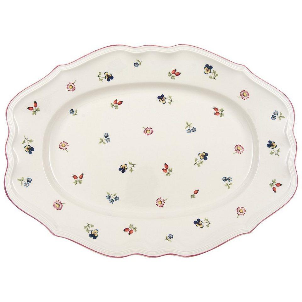 VILLEROY & BOCH Platte oval 44cm »Petite Fleur« in Dekoriert
