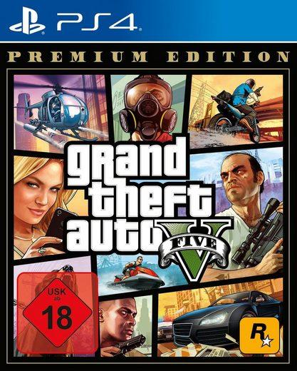 GTA V - Grand Theft Auto V Premium Edition PlayStation 4