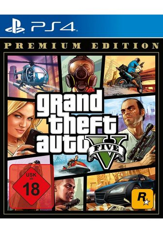 ROCKSTAR GAMES GTA V - Grand Theft mašina V Premium E...