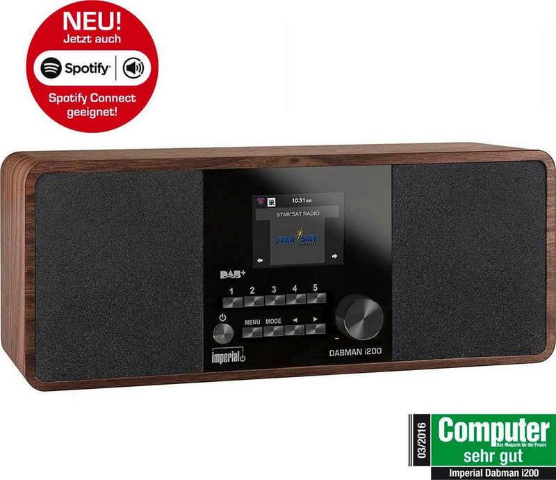 IMPERIAL »DABMAN i200« Digitalradio (DAB) (Digitalradio (DAB), Internetradio, FM-Tuner, UKW mit RDS, 20 W)