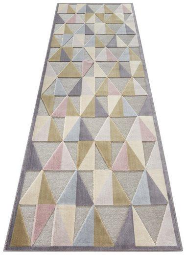 Läufer »Creuse«, ELLE DECORATION, rechteckig, Höhe 8 mm, Hoch-Tief-Struktur