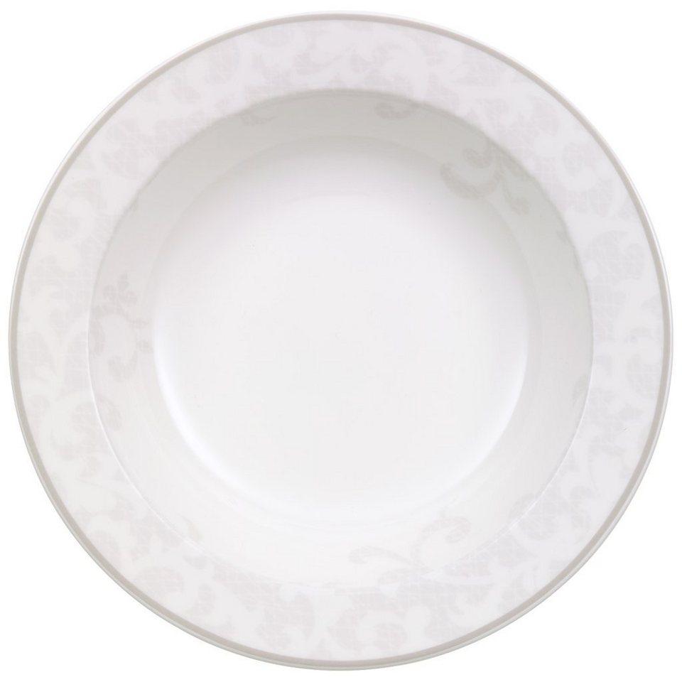 VILLEROY & BOCH Salatschale »Gray Pearl« in Dekoriert