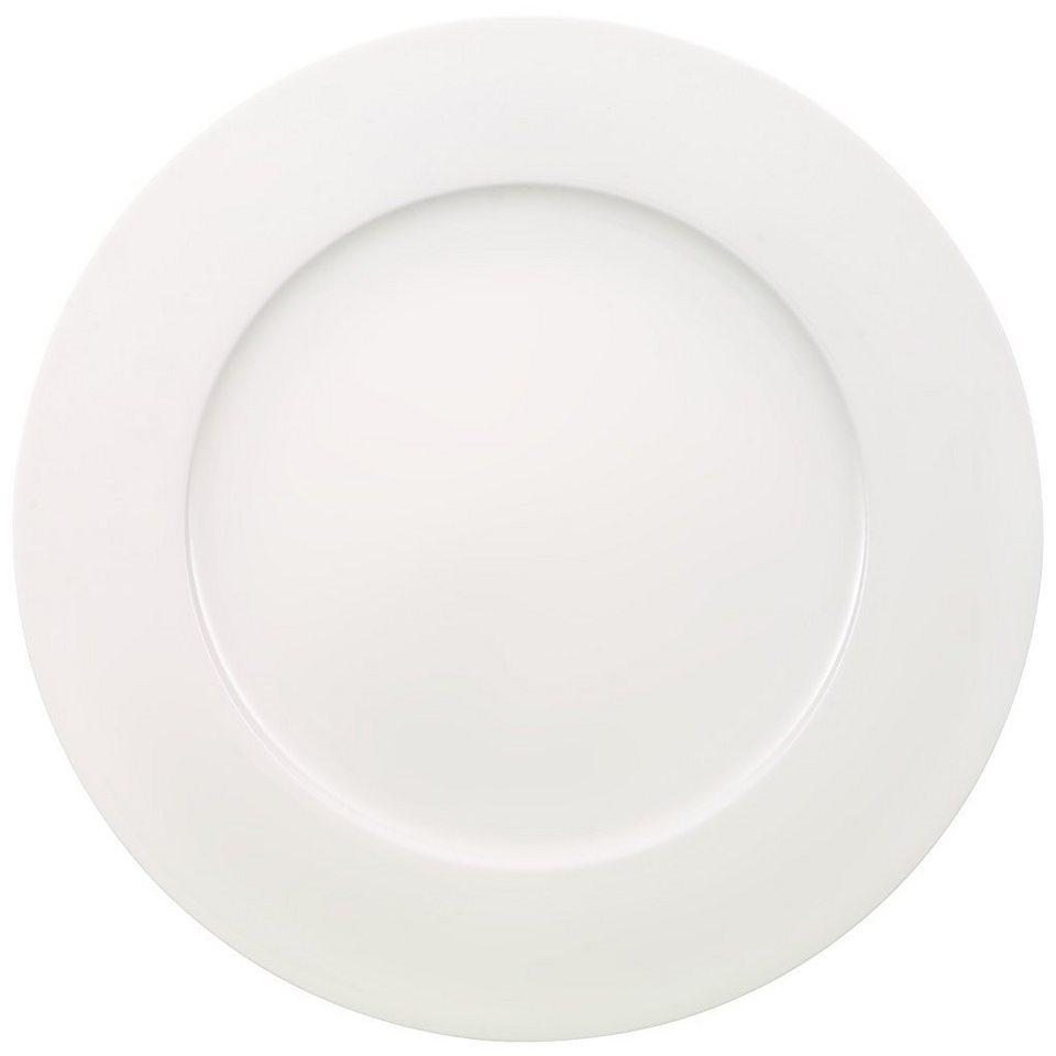 VILLEROY & BOCH Gourmetteller »Anmut« in Weiss