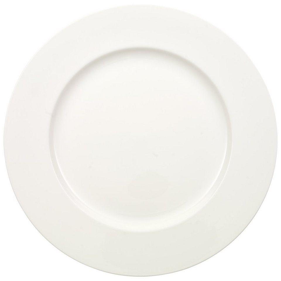 VILLEROY & BOCH Platte rund, flach »Anmut« in Weiss