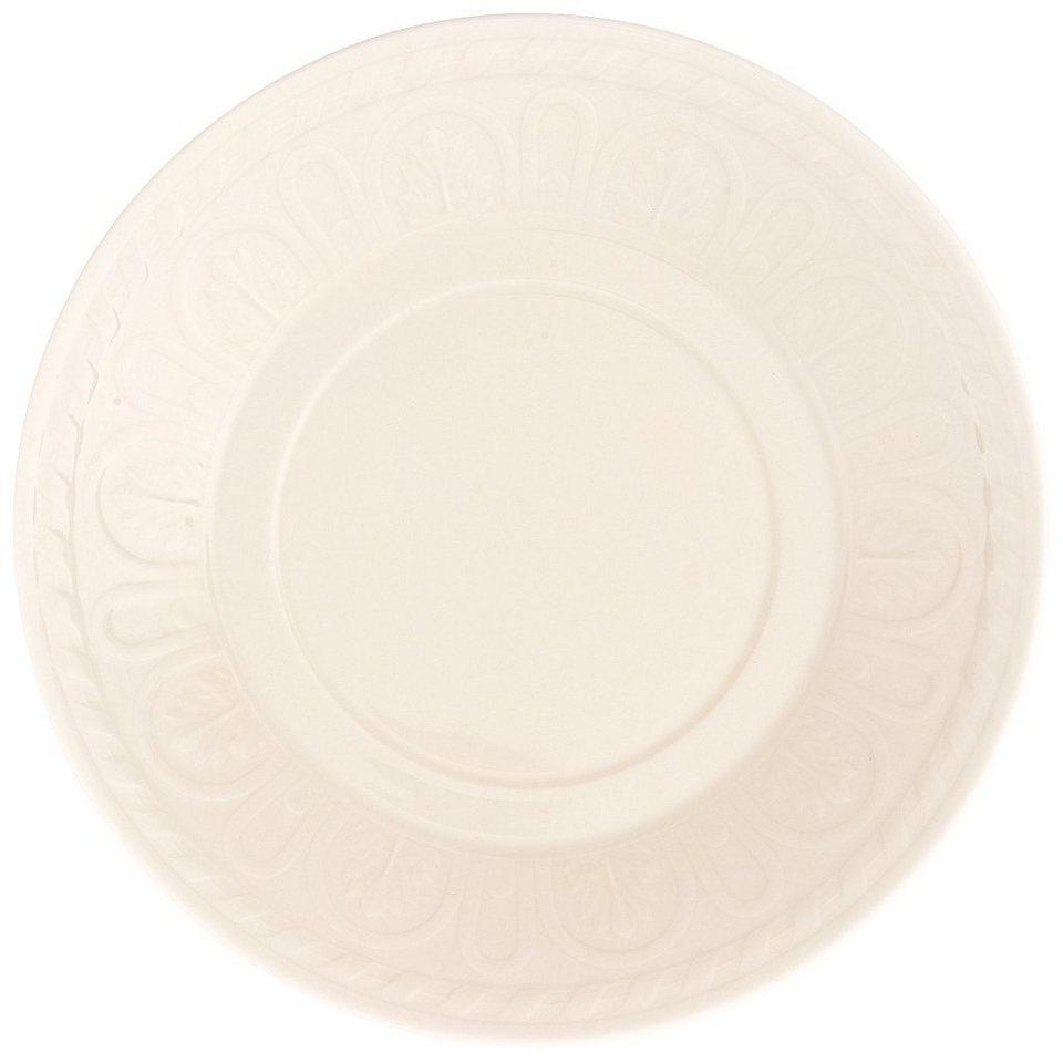 VILLEROY & BOCH Frühstücksuntertasse »Cellini« in Weiss