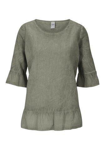 CASUAL блуза с лен