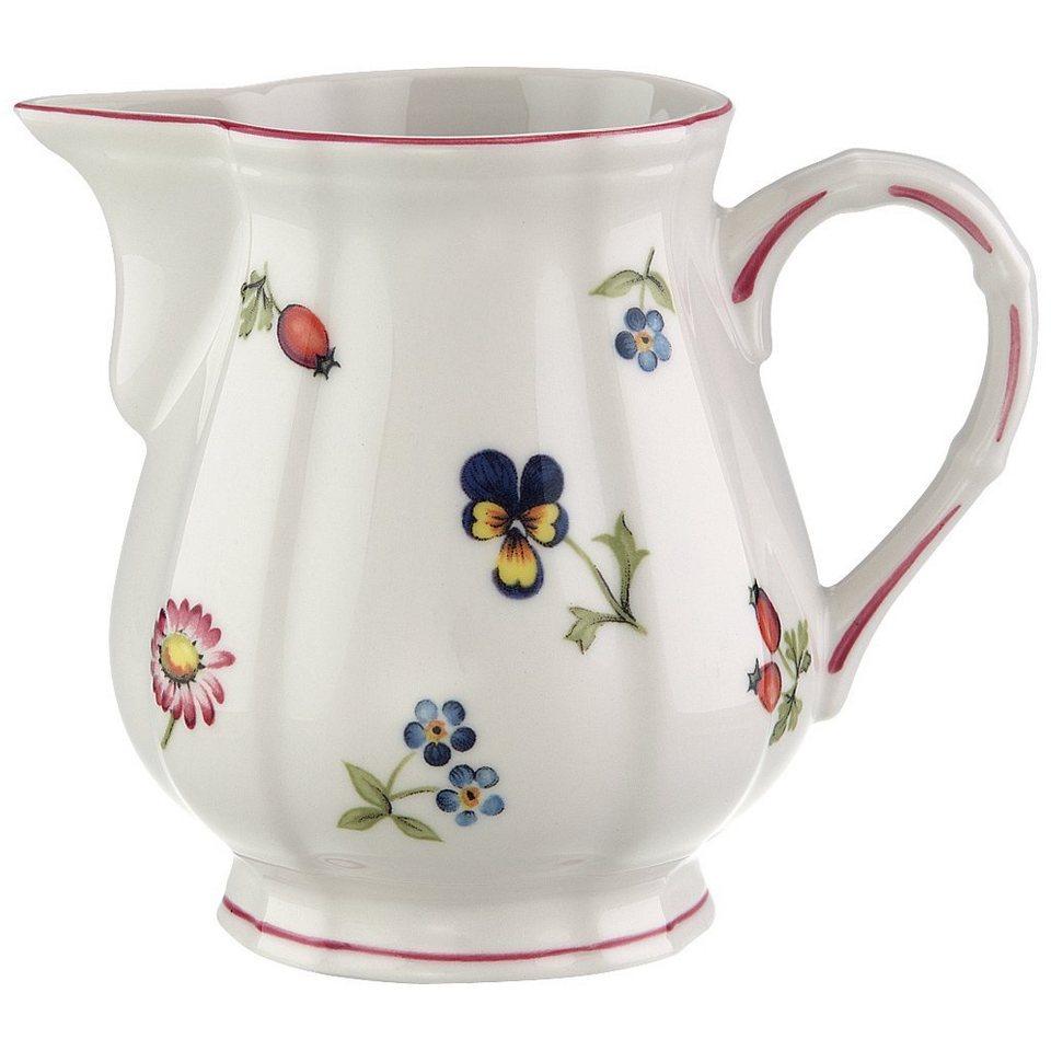 VILLEROY & BOCH Milchkännchen 6 Pers. »Petite Fleur« in Dekoriert