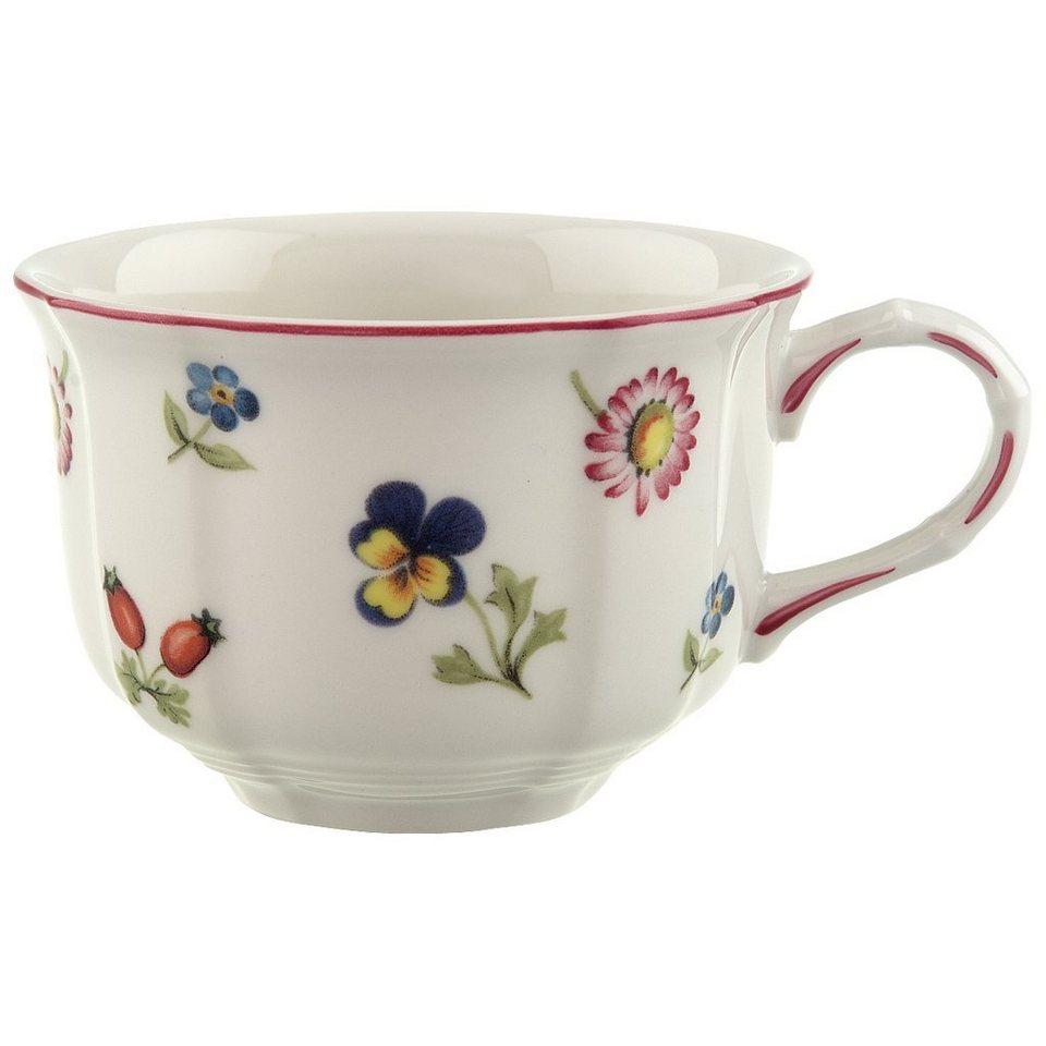 VILLEROY & BOCH Teeobertasse »Petite Fleur« in Dekoriert