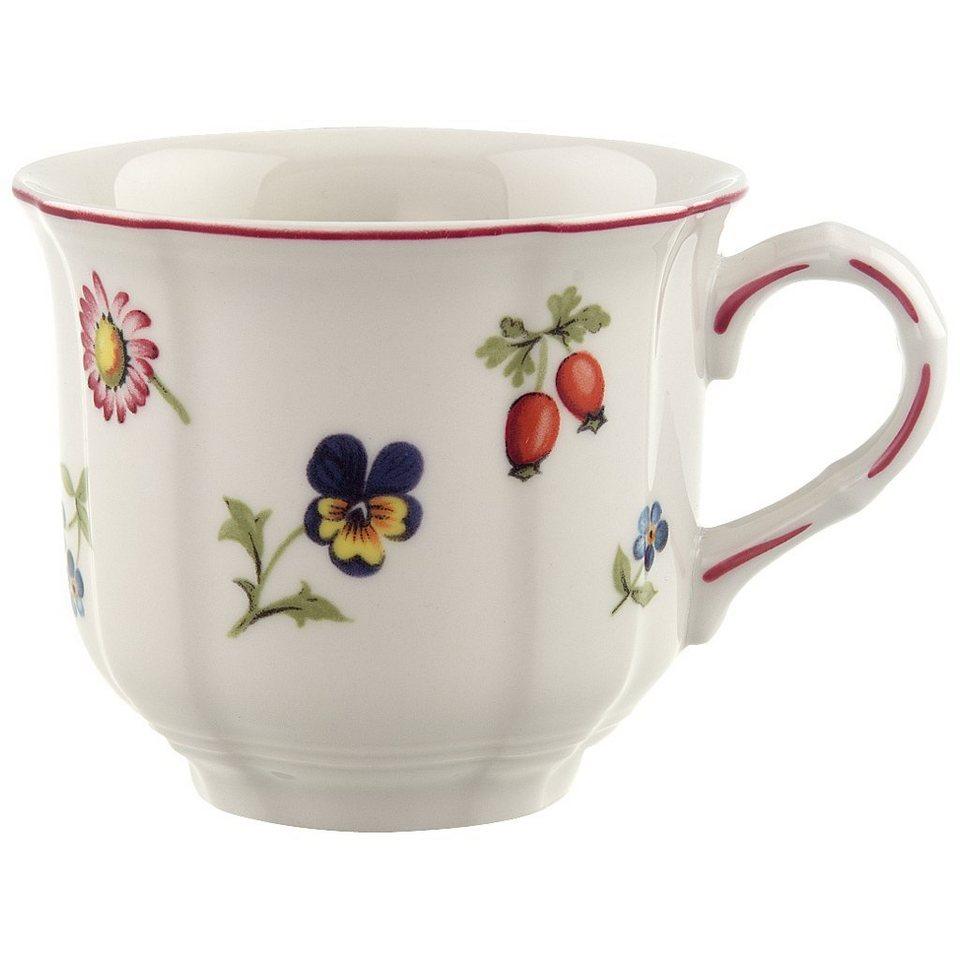VILLEROY & BOCH Kaffeeobertasse »Petite Fleur« in Dekoriert