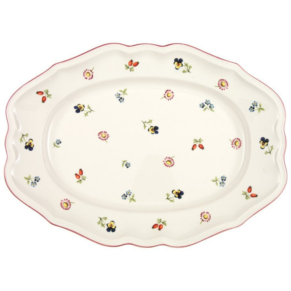 villeroy boch platte oval 37cm petite fleur otto. Black Bedroom Furniture Sets. Home Design Ideas