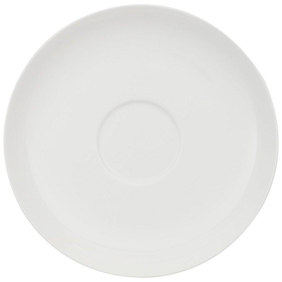 VILLEROY & BOCH Frühstücksuntertasse »Home Elements« in Weiss