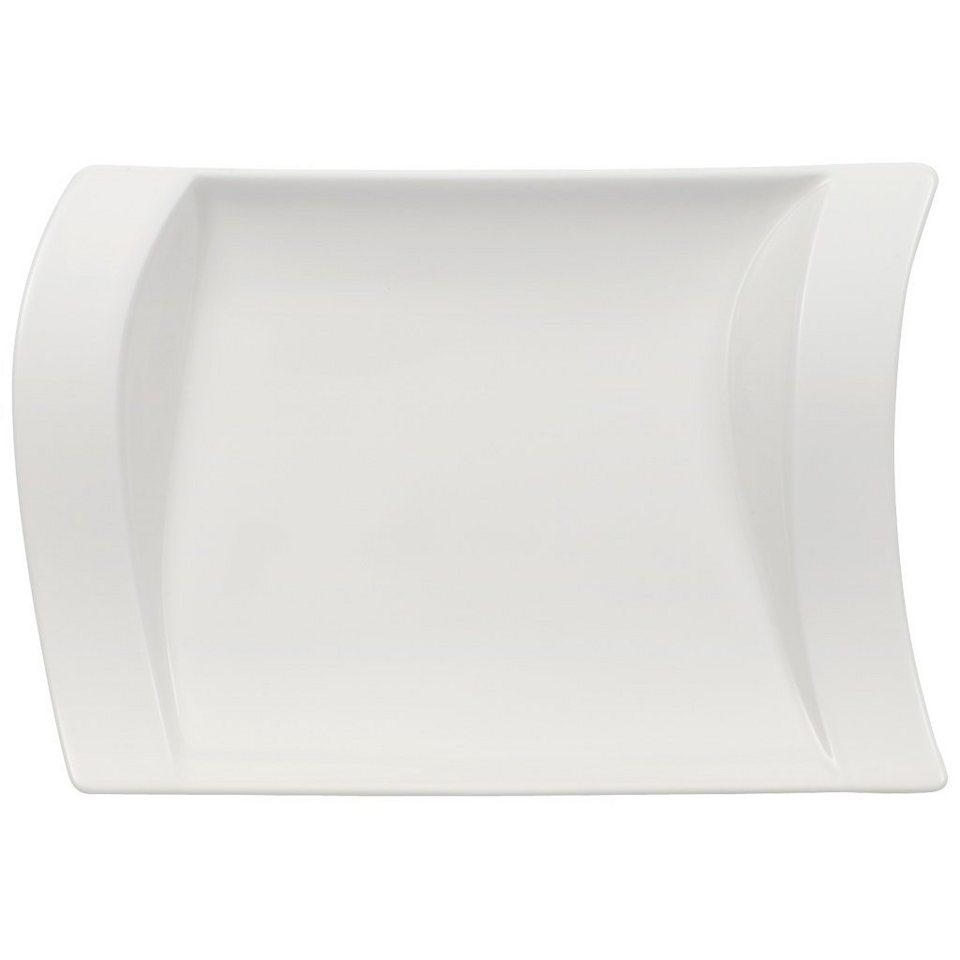 VILLEROY & BOCH Sauciere-Unterteil 21x15cm »NewWave« in Weiss