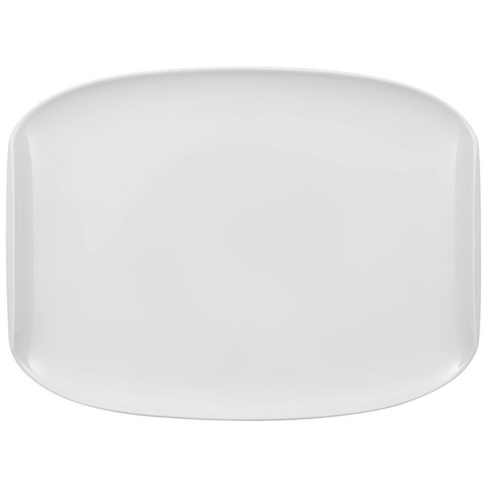 VILLEROY & BOCH Speiseteller COUP 32x24,5cm »Urban Nature« in Weiss
