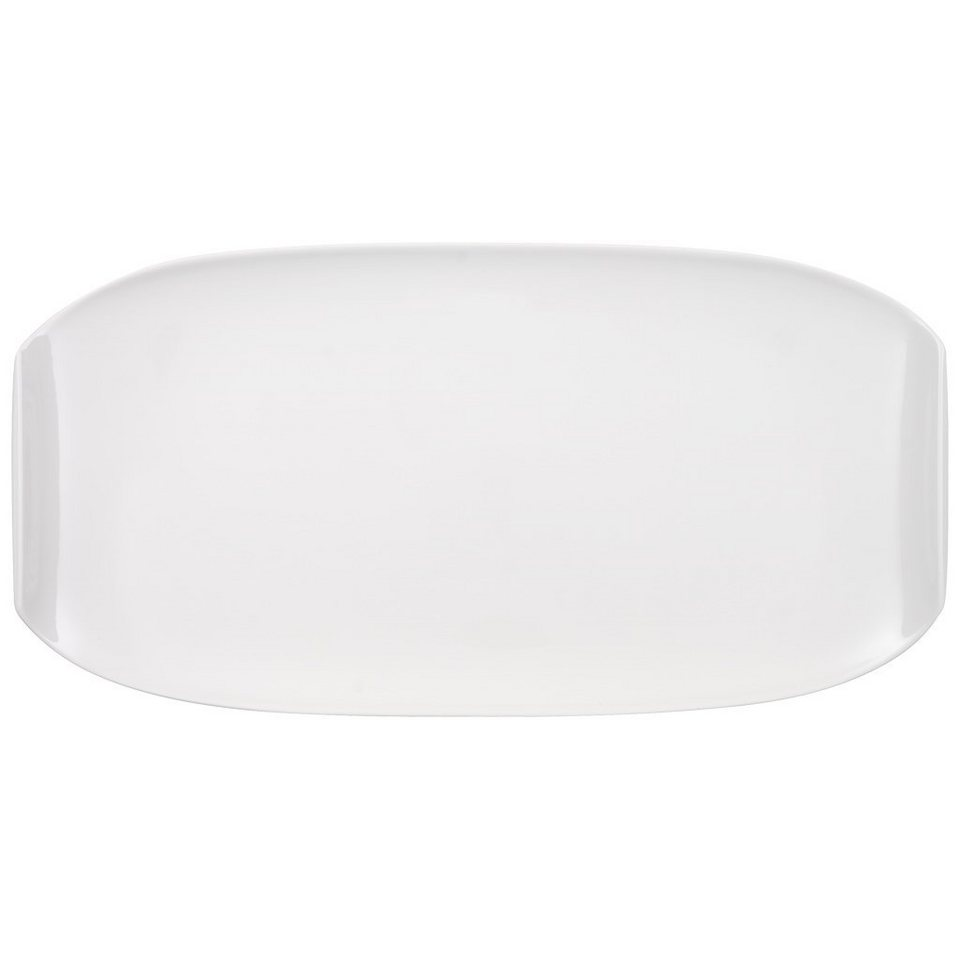 VILLEROY & BOCH Servierplatte 50x26cm »Urban Nature« in Weiss