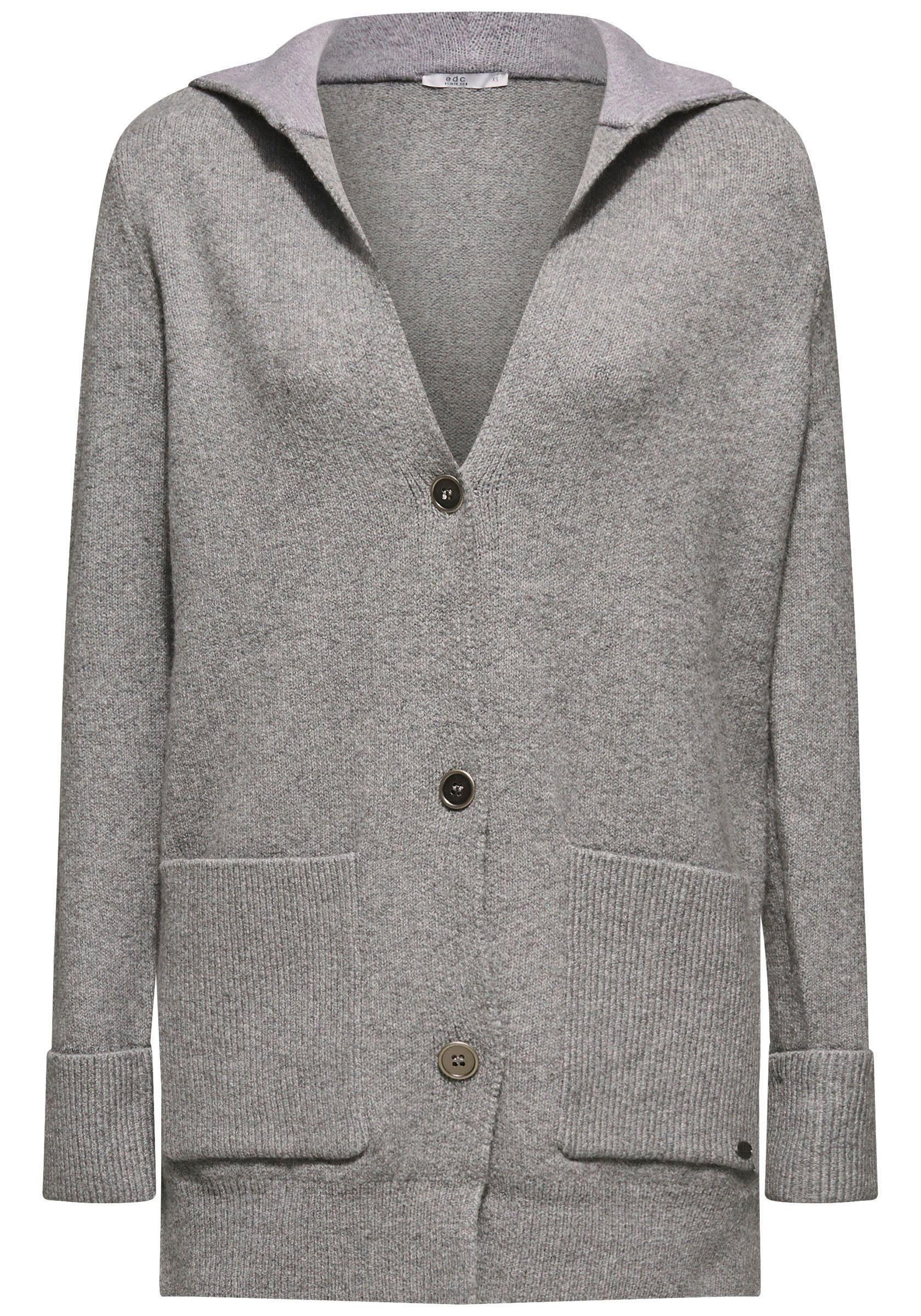 edc by Esprit Cardigan mit großen, aufgesetzten Taschen online kaufen | OTTO