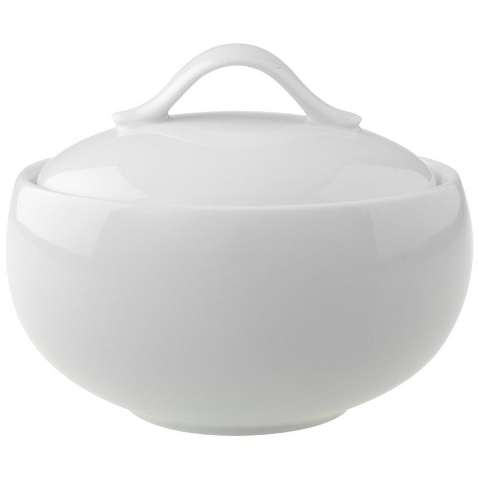 VILLEROY & BOCH Zuckerdose 6 Pers. »New Cottage Basic« in Weiss