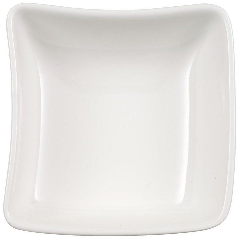 VILLEROY & BOCH Dip 8,5x8,5cm »NewWave« in Weiss
