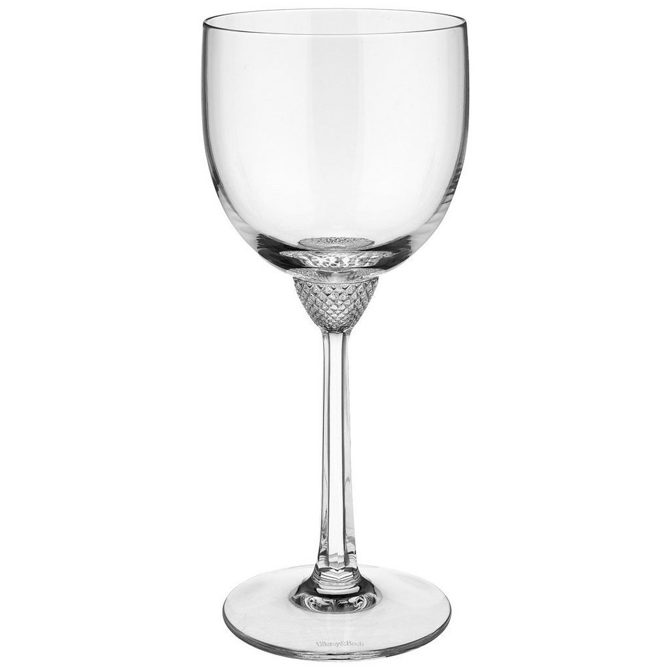 VILLEROY & BOCH Rotweinglas 196mm »Octavie« in Weiss