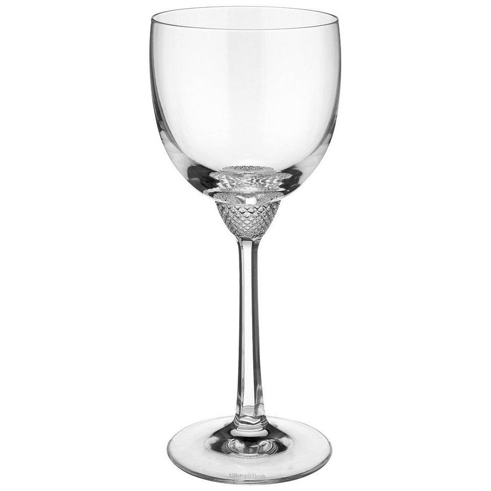 VILLEROY & BOCH Weissweinglas 186mm »Octavie« in Weiss