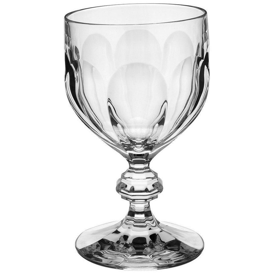 VILLEROY & BOCH Wasserglas 155mm »Bernadotte« in Weiss