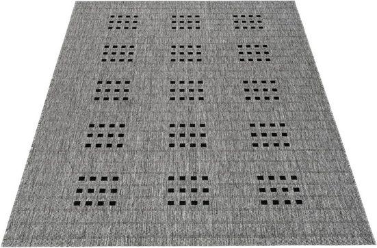 Teppich »Farum«, Bruno Banani, rechteckig, Höhe 5 mm, In-und Outdoor geeignet