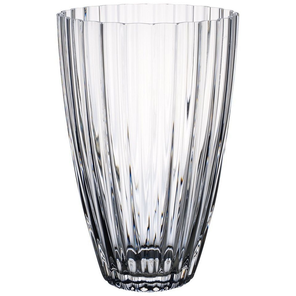 VILLEROY & BOCH Tulpenvase 227mm »Light&Flowers clear« in Weiss